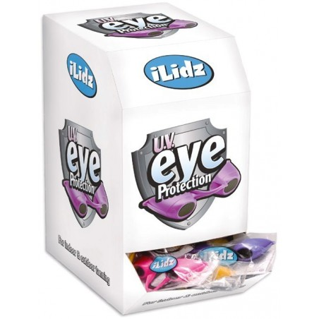 ILidz eyes protection - 60 pairs with Display