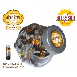 Bocal 100X Golden Brown Melanin Visage