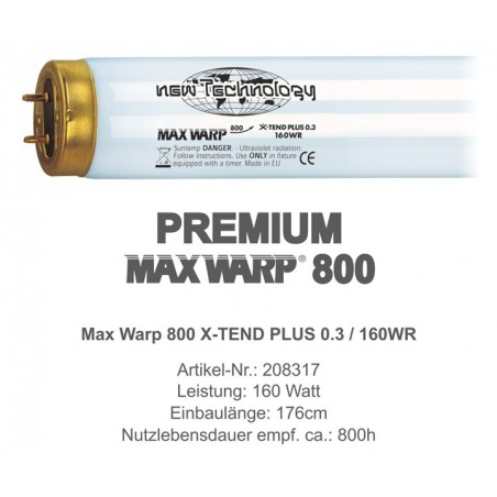 Max Warp 800 X-TEND PLUS 0.3 160W